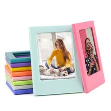 Magnet-Picture-Frame Photos Mini OOTDTY for Holding 3inch Fridge Refrigerator DIY Colorful