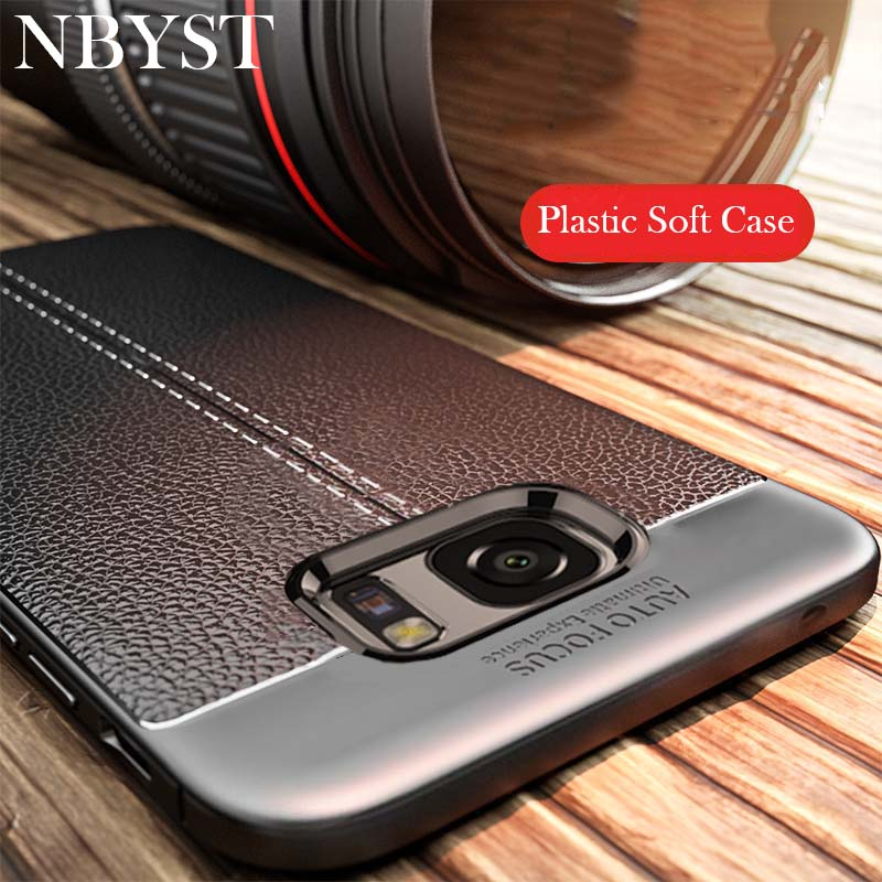 Luxury Soft Silicone Case For Samsung Galaxy S9 S8 Plus J3 J5 J7 A3 A5 A7 2016 2017 A6 A8 + 2018 J4 J6 J730FM Silicone Cover image