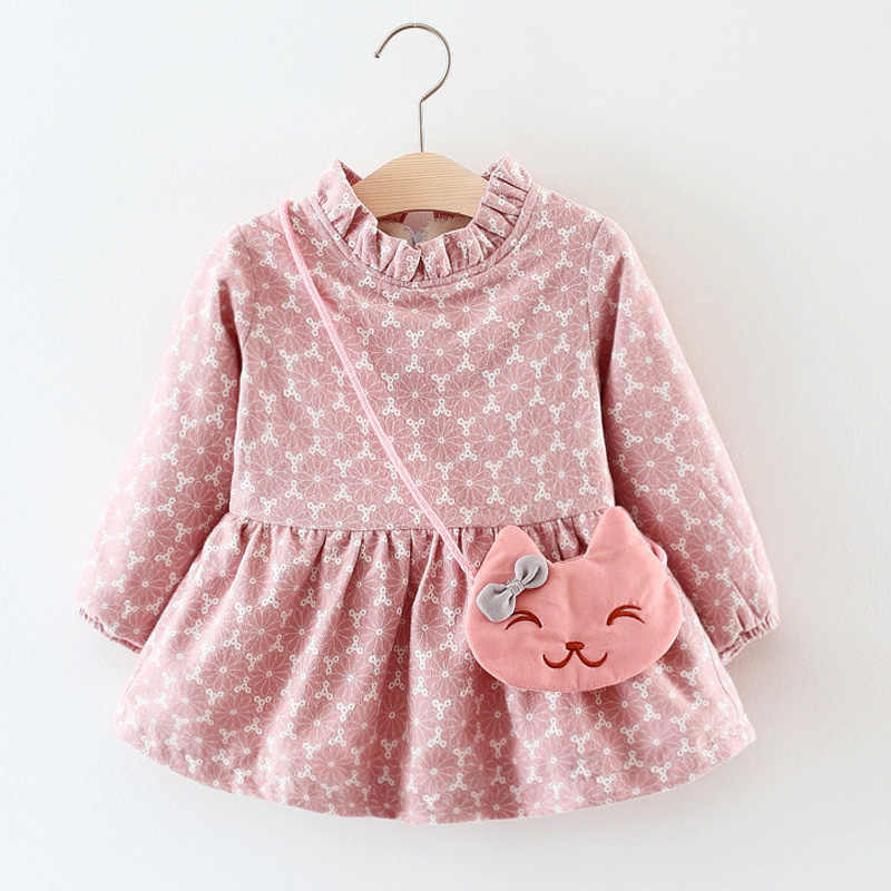 8a56d300a5f88 Halilo Little Girls Winter Dresses Thick Warm Newborn Baby Girl Dresses  Infant Child Clothing Christmas Dress Baby Girls Clothes