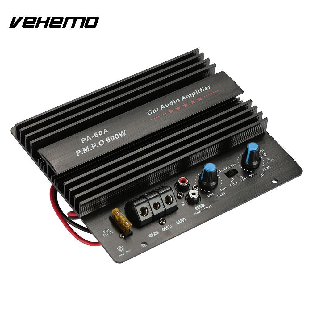 vehemo subwoofer automobile audio amplifier power amplifier metal 600w powerful amplifier board. Black Bedroom Furniture Sets. Home Design Ideas