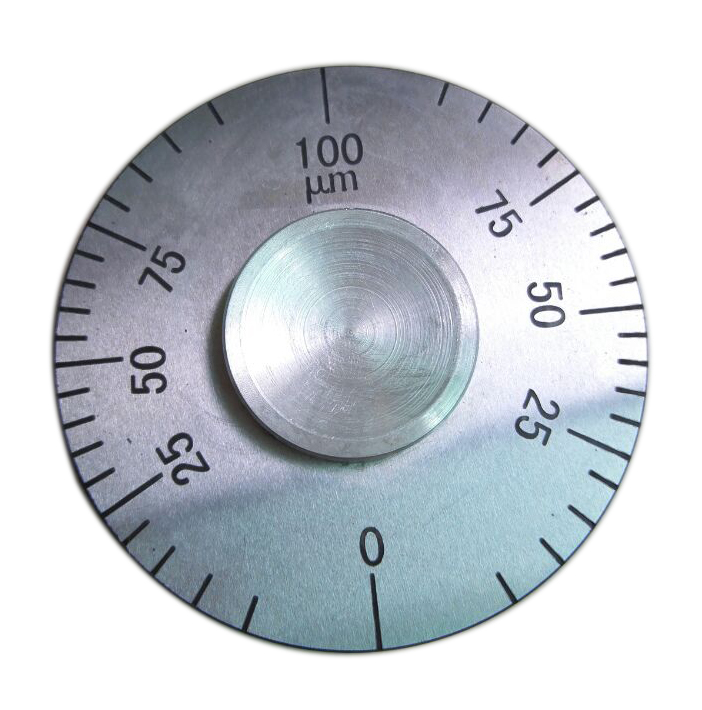 Märgkihi paksus Ratta paksuse mõõtur Roostevaba teras 0 ~ 100um / 150um / 200um / 500um