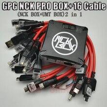 2020 nouvelle version originale NCK Pro Box NCK Pro 2 box (support NCK BOX + UMT BOX 2 en 1) nouvelle mise à jour + 16 câbles