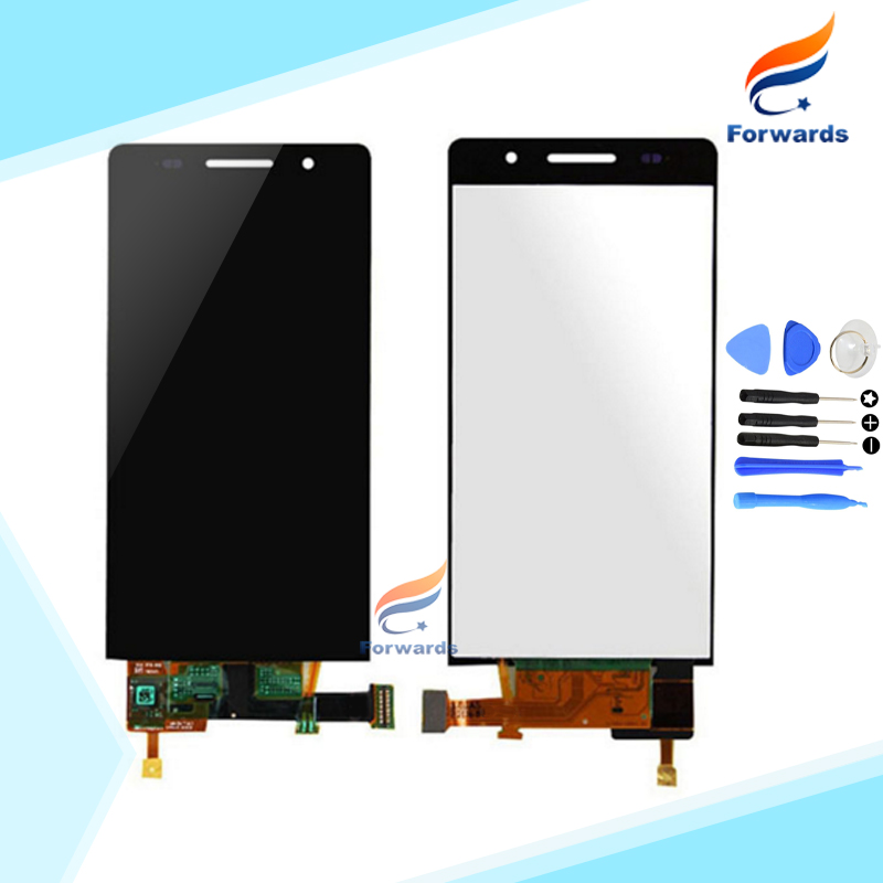 10pcs/lot DHL EMS free shipping Brand new LCD for Huawei Ascend P6 Screen Display with Touch Digitizer + Tools Full Assembly brand new twddra8rt with free dhl ems