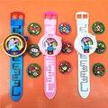 Yo-kai DX Relógio Japão Anime Yokai Iluminação Relógio relógio Medalha presentes Do Bebê Inserir a placa de som de som, o melhor presente para as crianças