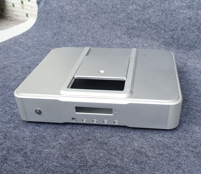 Châssis d'amplificateur CD/boîtier en aluminium coque d'amplificateur CD/boîtier d'amplificateur CD bricolage