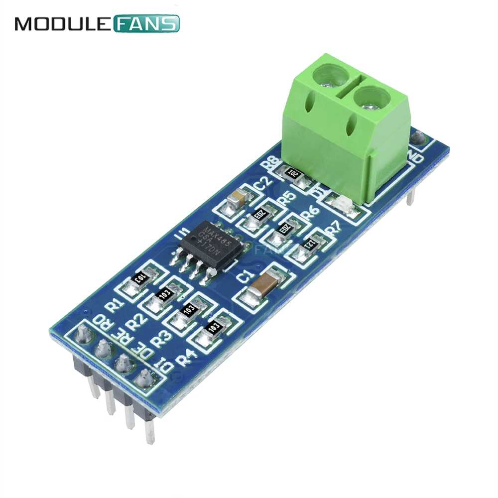 MAX485 RS-485 TTL Turn To RS485 MAX485CSA Converter Module Board For Arduino Microcontroller MCU Development Accessories