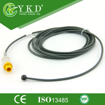 10 pieces/lot Temperature probe,Pediatric skin Surface probe type compatible for Mindray T5/T6/T8 2