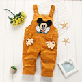Free Shipping! Baby Cartoon Overalls, Girls boys cute corduroy suspender trousers soft cute clothes RETAIL e517