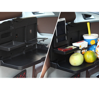 Car Tray Food Car Stand Rear Seat Beverage Rack Water Drink Holder Bottle Travel Mount Accessory