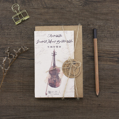 30Sheets/Set Musical Instrument Antique Shop Postcard /Greeting Card/Message Card/Christmas and New Year gifts цена