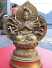 Tibet temple brass 1...