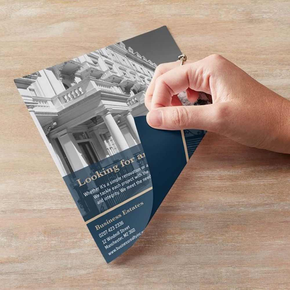 Custom Printing A4 A5 Flyers Leaflet