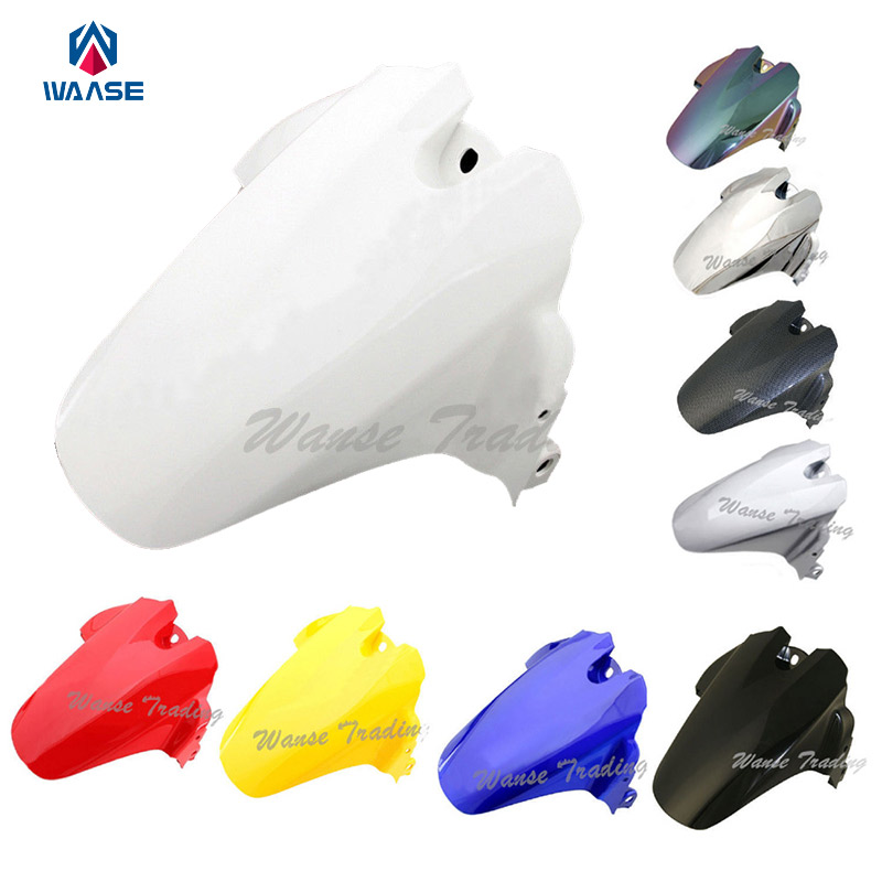 Motorcycle Rear Wheel Hugger Fender Mudguard Mud Splash Guard For Suzuki GSXR600 GSXR750 GSXR 600 750 2006 2007 2008 2009 2010 red for yamaha yzf r25 r3 13 16 14 15 motorcycle rear fender dust mudguard with chain guard fairing tire wheel hugger protector