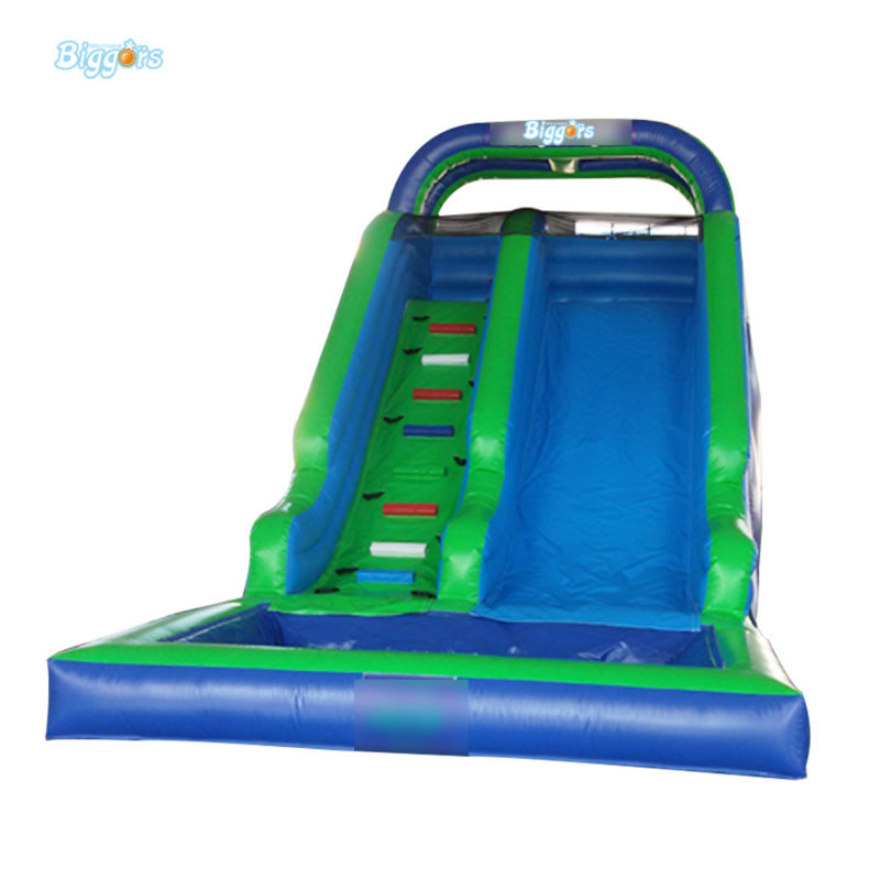 Inflatable Biggors Cheap Price Hot Popular Inflatable Water Slide Inflatable Pool Slide For Sale commercial inflatable water slide with pool made of pvc tarpaulin from guangzhou inflatable manufacturer