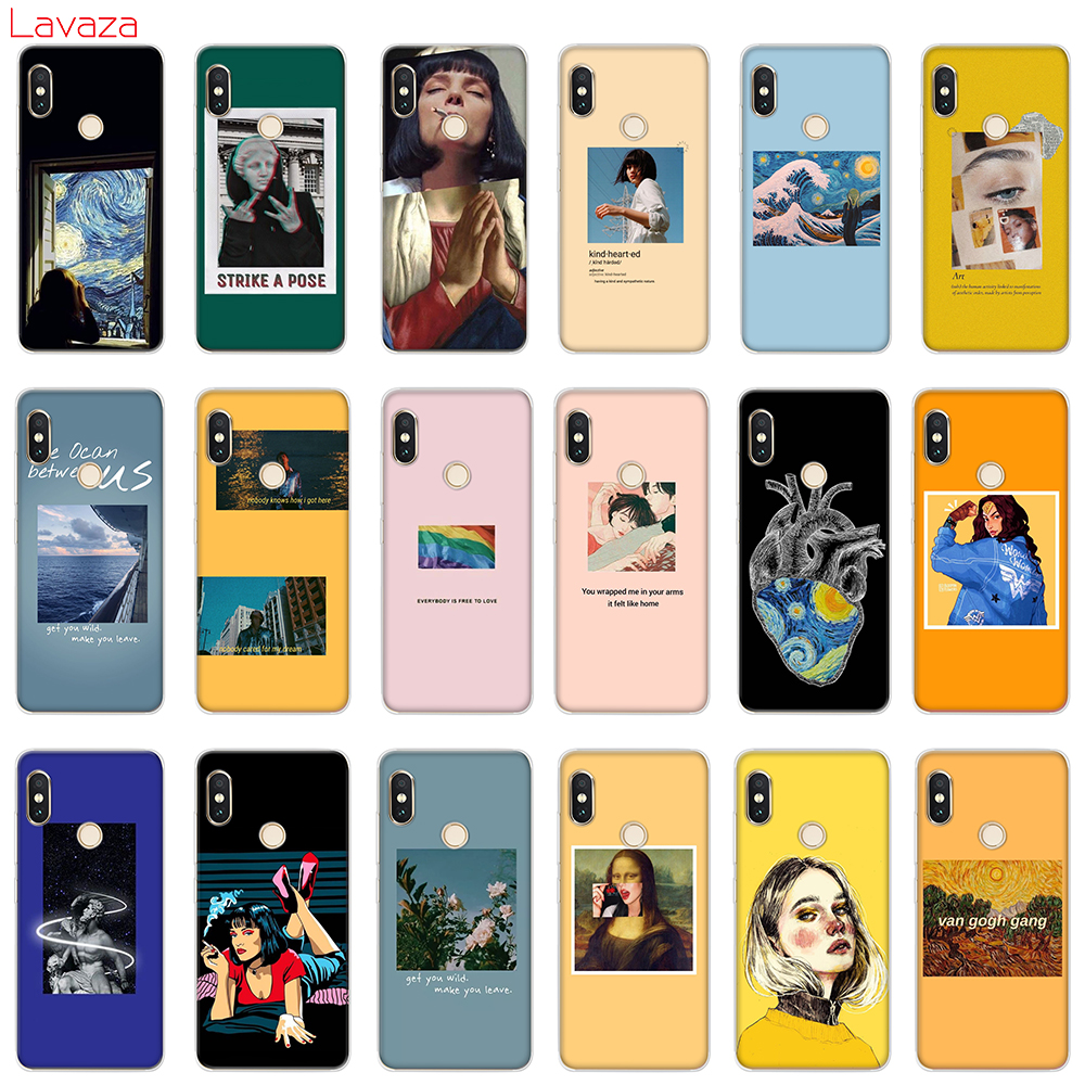 Lavaza Great art aesthetic van Gogh Mona Lisa Hard Case for POCOPHONE F1 Xiaomi A2 Mi8 Lite A1 Redmi Note 4X 5 6 Pro