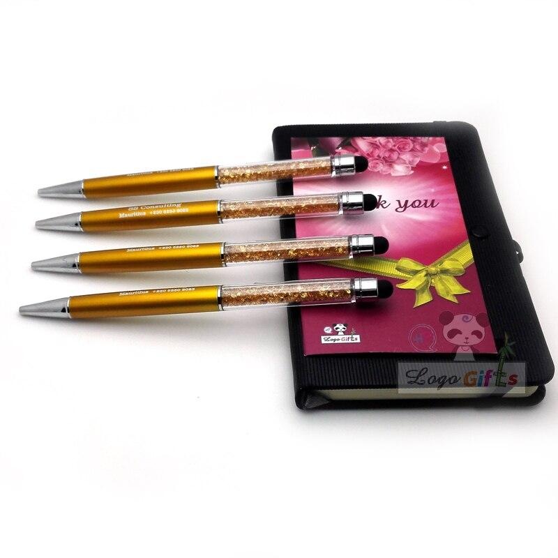 Ofis ve Okul Malzemeleri'ten Başlık Kalemleri'de Japonya tarzı Elmas dokunmatik kalem Kristal kalemler ballpen Ofis okul Promosyon hediye Ücretsiz özelleştirilmiş ÜCRETSIZ LOGO adı'da  Grup 1