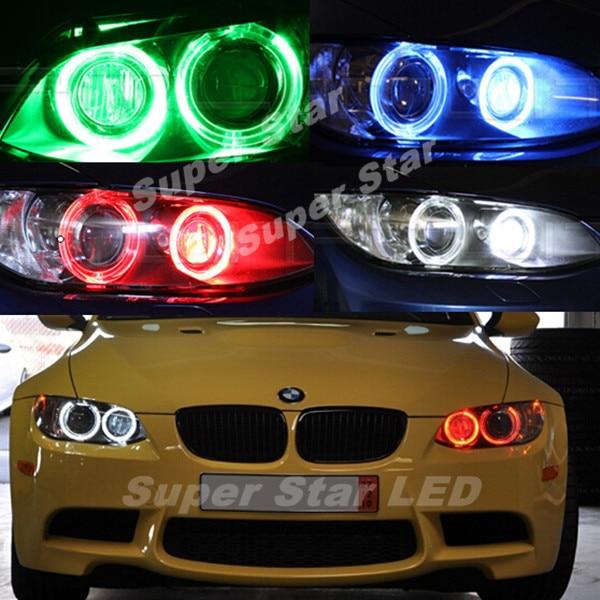 2Pcs/Set  H8 Error Free 120W  LED Angel Eye Marker Lights Bulbs For BMW 1 3 5 Series E60 E61 E70 E71 E90 E92 E93 X5 X6 Z4 M3
