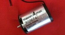 Используемый импортированный швейцарский maxon — макс Coreless двигатель постоянного тока 302674 22 мм