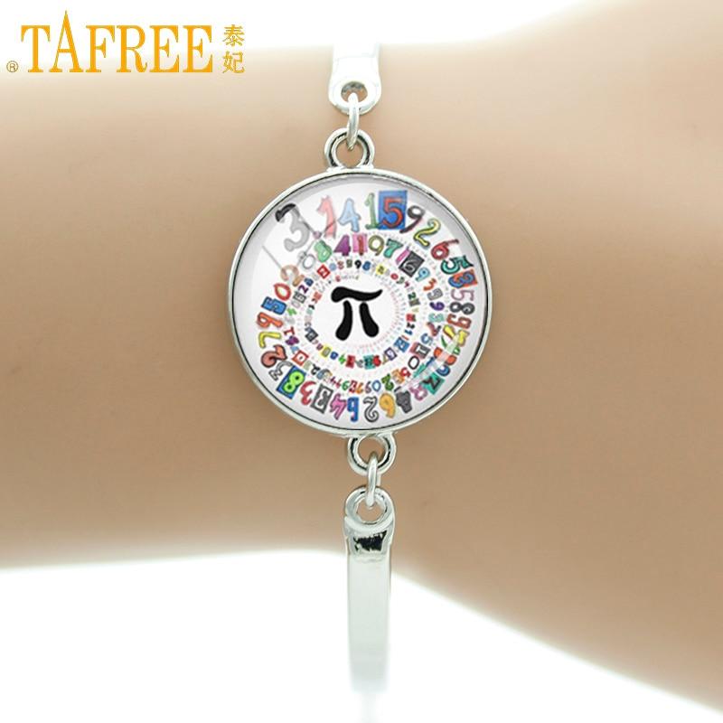 Spiral Bracelet Mathematical Pi Symbol