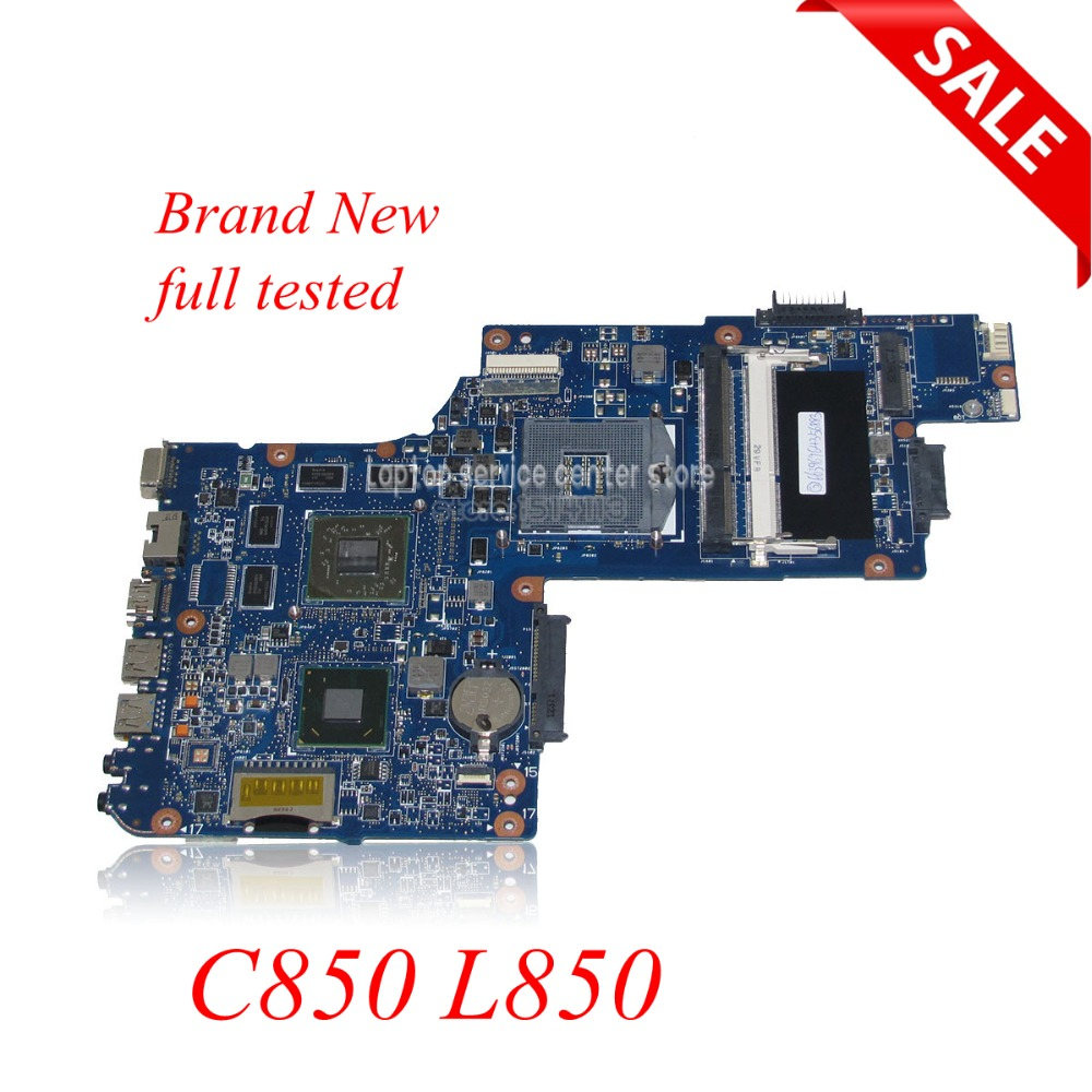 NOKOTION Brand new H000052630 laptop motherboard for toshiba satellite C850 L850 HM76 HD7600m HD7610M series DDR3 Main board