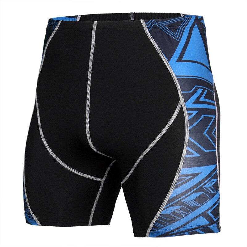 2019 Summer Beach Compression Shorts Men Fashion 3D Print Short Leggings Men/Women Joggers Quick-drying Skinny Fitness Shorts
