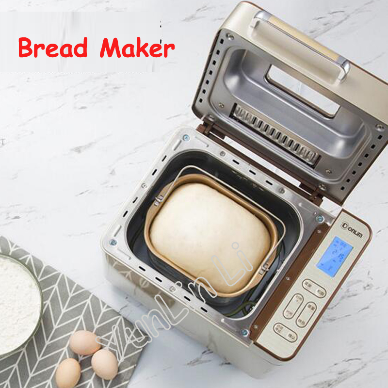 Full-automatic Bread Maker Multi-functional Intelligent Bread Baking Machine Bread Toaster DL-TM018 children s book of baking bread