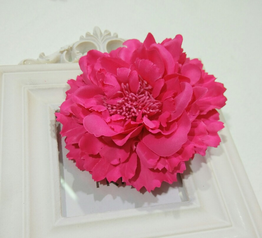 Fabric Flower Hair ClipsFlower Corsage Brooch PinsWomen