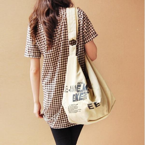 Aliexpress.com : Buy New 2015 Fashion Canvas Bag Women Messenger ...