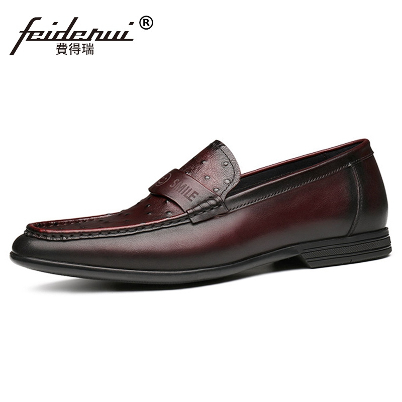 2019 New Luxury Man Casual Driving Shoes Genuine Leather Comfortable Loafers Handcrafted Mens Ostrich Pattern Footwear JS2672019 New Luxury Man Casual Driving Shoes Genuine Leather Comfortable Loafers Handcrafted Mens Ostrich Pattern Footwear JS267