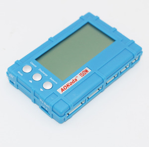 Image 3 - AOKoda 150W 3 in 1 RC 2s 6s Lipo Li Fe Battery Balancer LCD+Voltage Meter Tester+Discharger