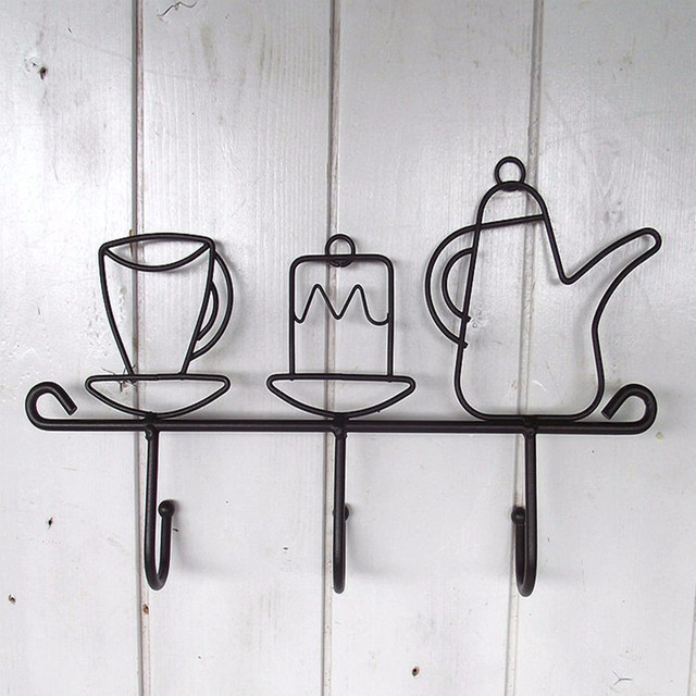 Iron Hooked Kitchen Cup Hanger