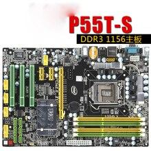 P55T-S P55 только значительно борту борту 1156-контактный DDR3 памяти поддержка I3 I5 I7cpu