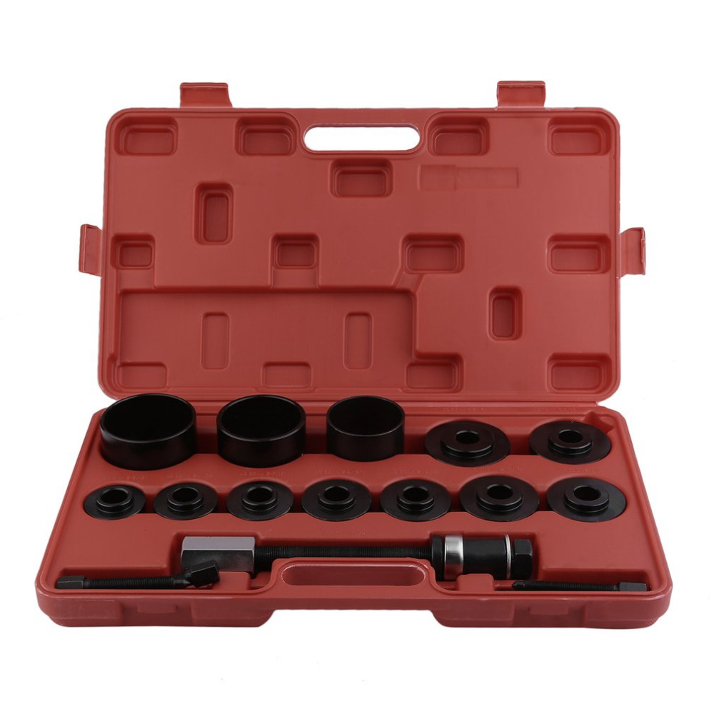 Professional Wheel Hub Removal Adapter 19 PCS Wheel Bearing Puller Durable Wheel Bearing Remover Car Repair Tool Hot Sale wheel bearing