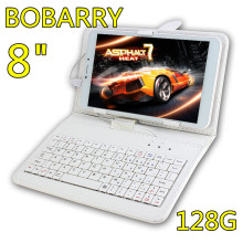 BOBARRY 8 inch T8 Octa Core 8 inch Double SIM card  Tablet Pc 4G LTE phone mobile 3G android tablet pc 4GB RAM128G ROM 8 MP IPS