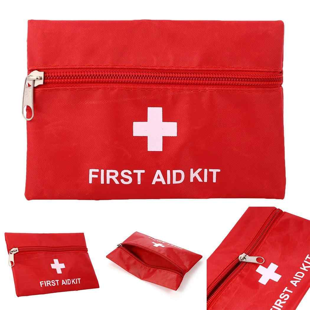 Travel Outdoor Medical First Aid Mini Bag Emergency Small Bag Medicine Package Emergency Kit Medicine Divider Storage Organizer