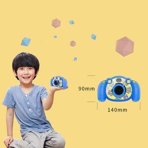 Image 4 - Thiết Kế Mới 2 Inch Hoạt Hình Dễ Thương Chống Trơn Trượt Mini Kỹ Thuật Số Camera Sinh Nhật Tặng Đồ Chơi Cho Trẻ Em Có Ghi Âm