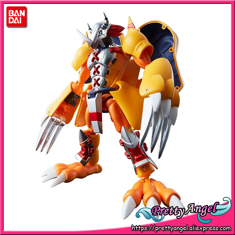 PrettyAngel - Genuine Bandai Tamashii Nations Digivolving Spirits 01 Digimon Adventure Wargreymon Action Figure ar 1163 набор ложек десертных 6 шт юнион