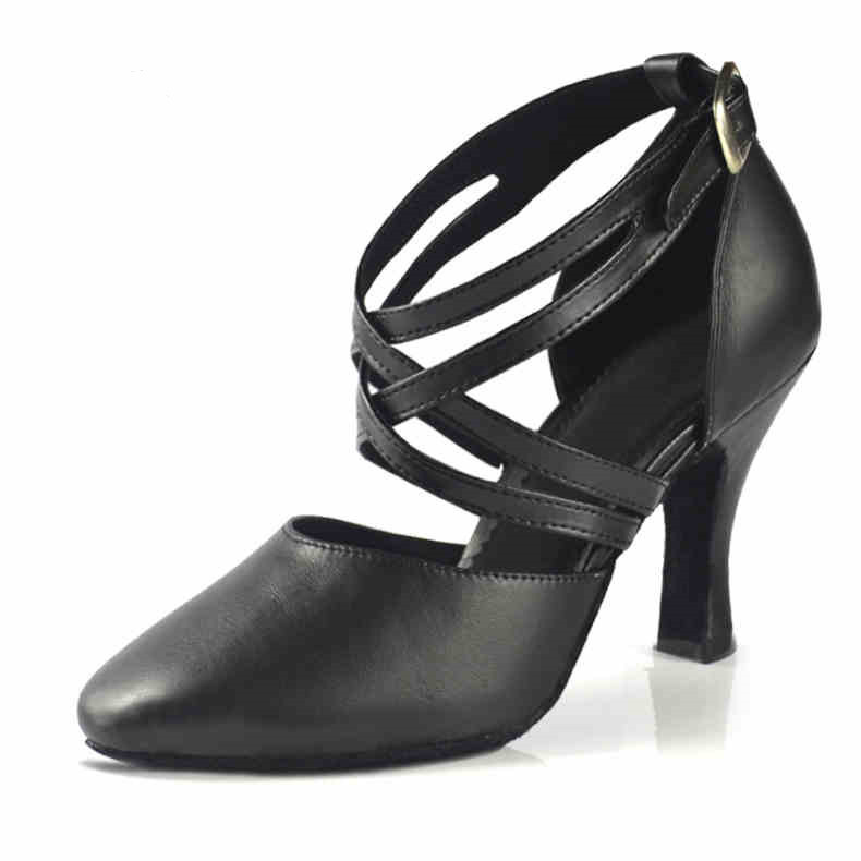 Leather Ballroom Shoe for Ladies 2