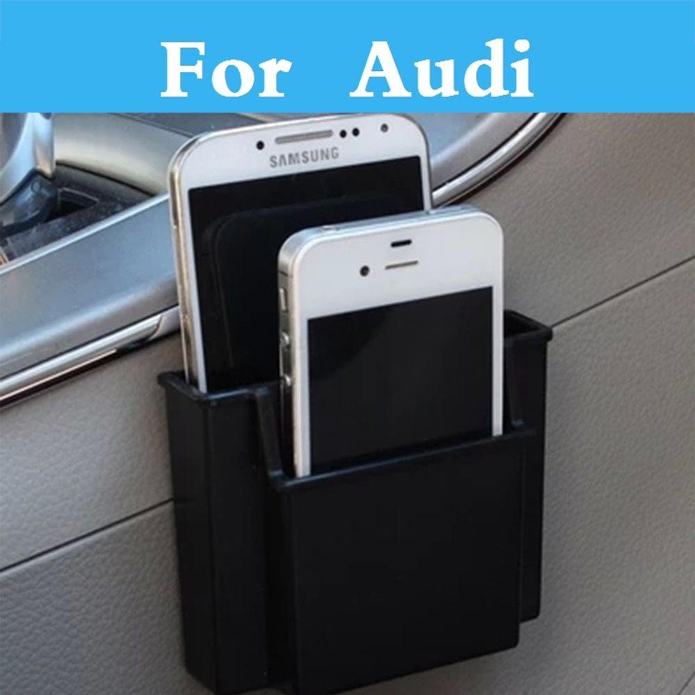 Автомобильное хранения Сумка магазин телефон заряда в поле держатель Организатор Box для <font><b>Audi</b></font> Q3 Q5 Q7 A3 A4 A5 <font><b>A6</b></font> a7 A8 салона