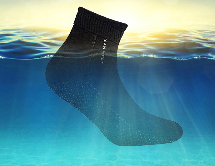 3mm Neoprene Surf Wetsuit Diving Socks Underwater Hunting Shoes Underwater Swimming Keep Warm Anti coral swimming equipment in Wetsuit from Sports Entertainment
