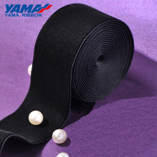 YAMA 1-1/2 inch 38mm Solid Color Velvet Ribbon for Wedding Garment Accessories 20yards/lot ( Shops have 10 kinds of size )
