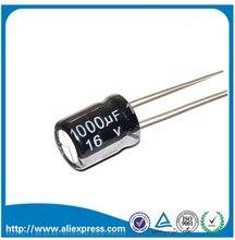 20 pièces 1000 UF 16 V 16 V 1000 UF Condensateurs Électrolytiques En Aluminium Taille 8*16 MM 16 V/1000 UF Condensateur Électrolytique