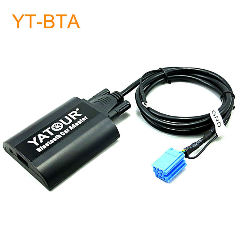 Yatour BTA Car Bluetooth Adapter Kit for Factory OEM Head Unit Radio for Seat Ahambra Arosa Cordoba Ibiza Leon Toledo Vario car usb sd aux adapter digital music changer mp3 converter for skoda octavia 2007 2011 fits select oem radios