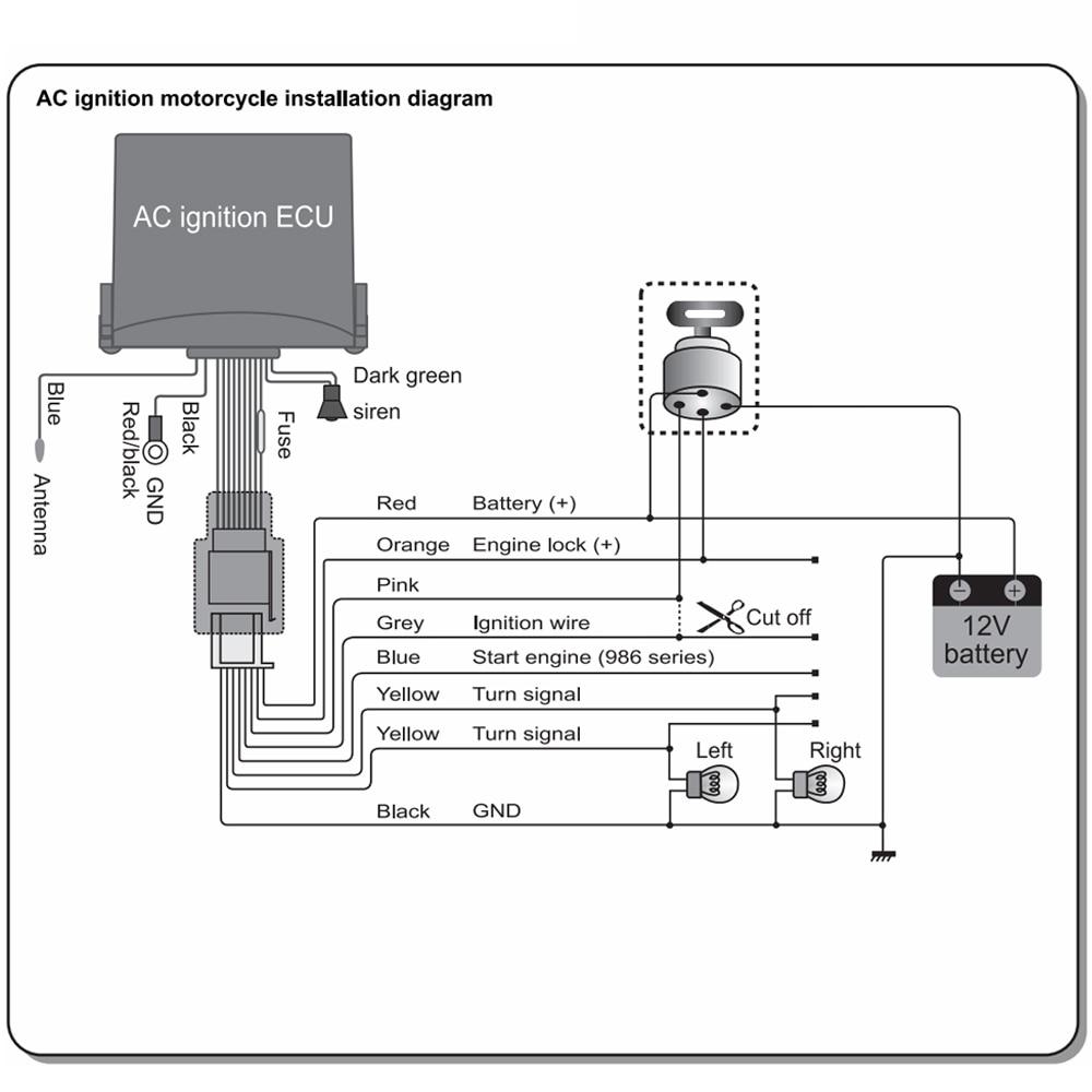 Wiring Diagram Alarm Kereta : Wiring diagram motorcycle alarm efcaviation