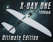 X-UAV UNO 1800mm FPV Avión Ultimate Edition PNP RC Combo Nuevo Material de Fibra de Avión o EPO Aviones con cardán: sin cámara