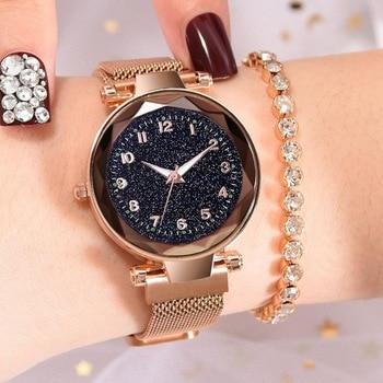 Ρολόι Luxury Starry Sky Ρολόγια Αξεσουάρ MSOW