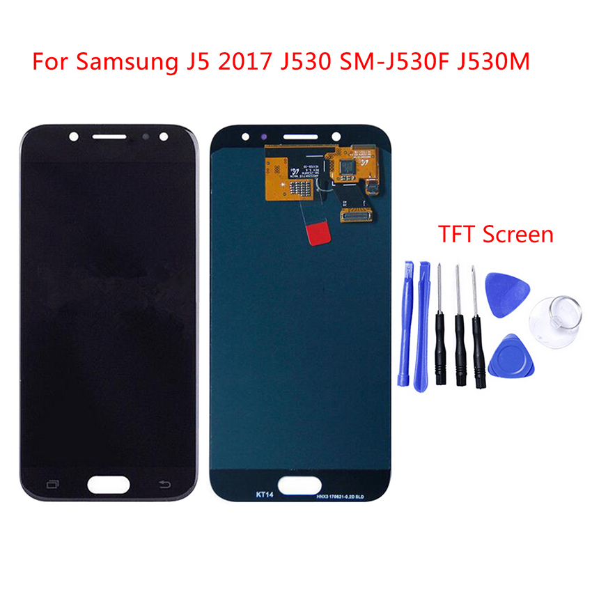 Pour samsung GALAXY J5 2017 LCD J530 affichage J530F écran tactile numériseur assemblée remplacement pour samsung J530 5.2