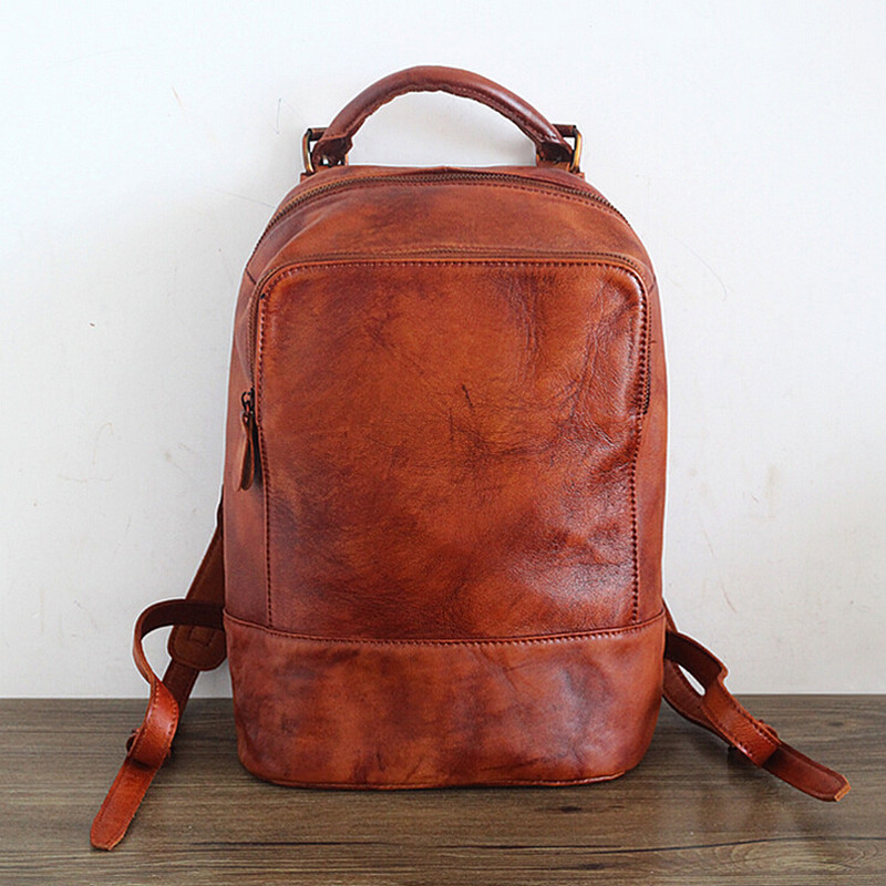 Compare Prices on Brown Leather Backpack- Online Shopping/Buy Low ...