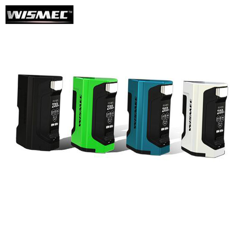 100% Original Wismec Luxotic DF Box 200W E Cigarette Squonker Vape Luxotic DF MOD with 7ml Bottle fit Guillotine V2 RDA цены