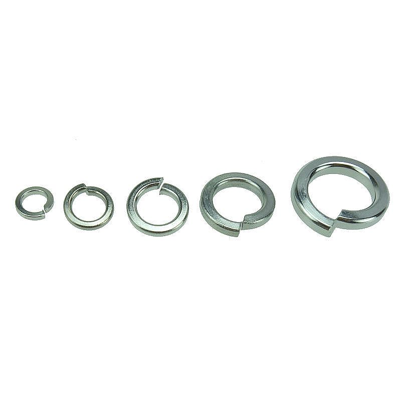 GB93 Stainless Steel 304 Spring Washer Split Lock Washers